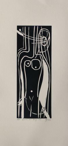 Femme aux longs cils